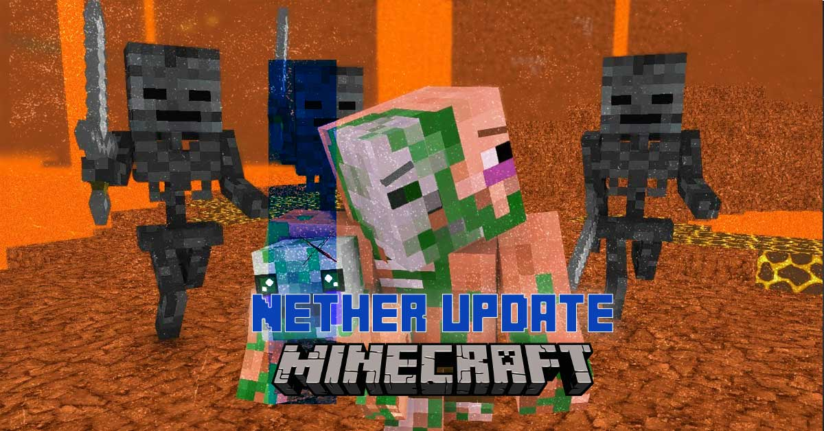 minecraft java nether update 1 16 0