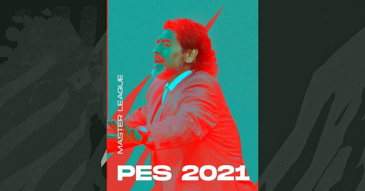 pes 2021 master league maradona