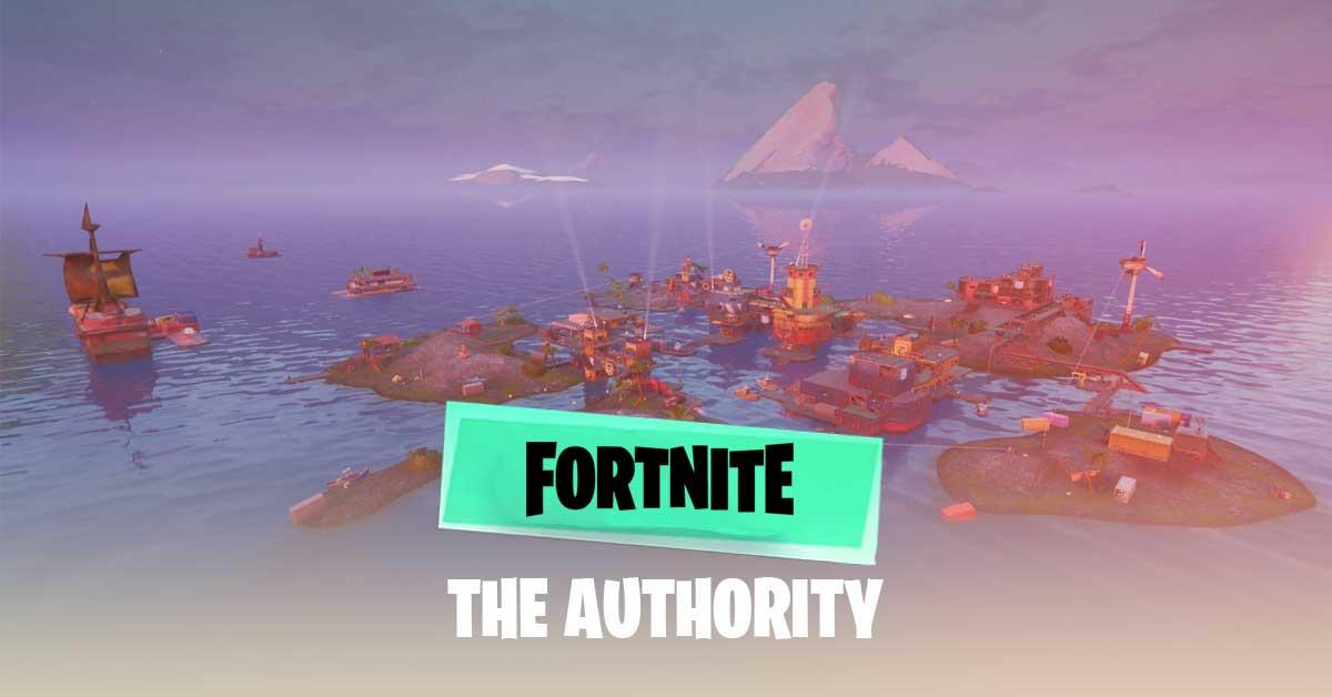 fortnite SEASON 3 AUTHORITY