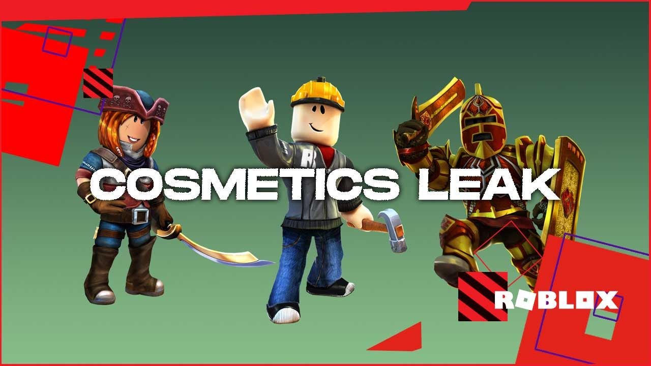 ROBLOX cosmetics leak 1
