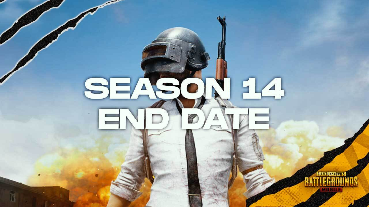 pubg mobile season 14 end