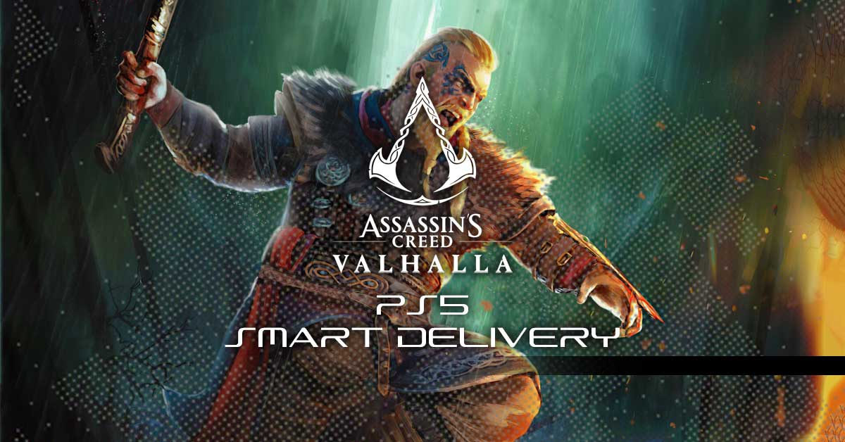 assassins creed valhalla ps5 smart delivery