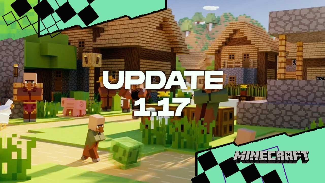 Minecraft Update 10.107: CAVES & CLIFFS UPDATE – Últimas Notícias