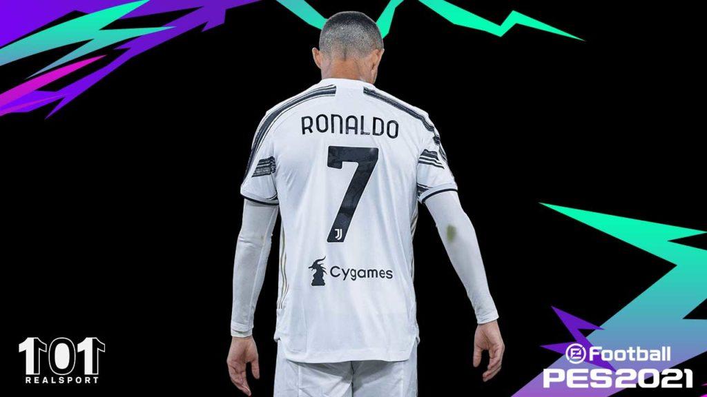pes 2021 update ronaldo