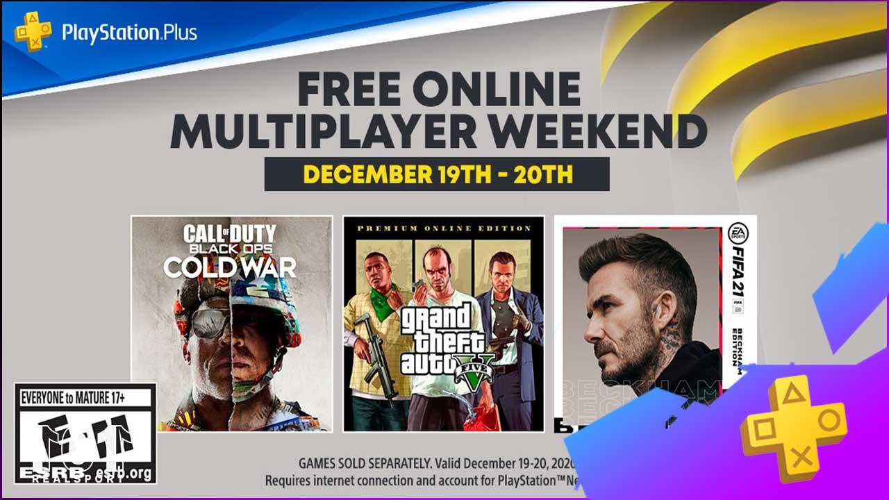 PS Plus Free Weekend December 2020 Thumbnail1