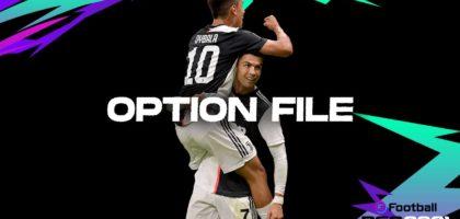 ronaldo dybala pes 2021 option file