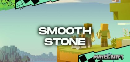 Minecraft How to make smooth stone 2