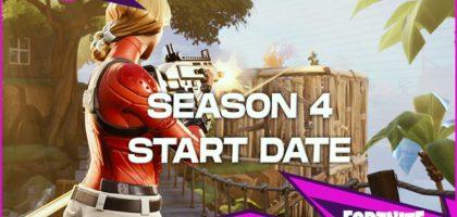 Season 4 Start Date