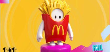 Fall Guys McDonalds Skin Crossover